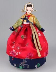 Youn-Ji Dolls 연지인형~ Pretty Little Hanbok Beauties Korean Hanbok, Korean Dress, Korean Outfits, Korean Clothes, Korean Traditional Dress, Traditional Dresses, Korean Women, Korean Girl, Korean Style