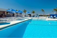 Take a dip in our rooftop pool