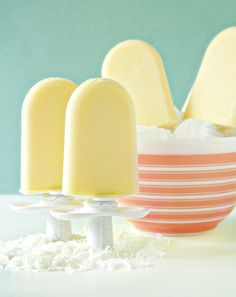 pineapple coconut pops - must try this recipe on my zoku popsicle maker