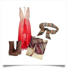 Spring/Summer Outfit I created on polyvore :)