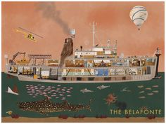 "[The Life Aquatic With Steve Zissou]: ""The Belafonte"" by Max Dalton"