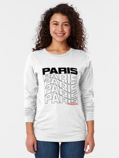 """Paris Frankreich"" T-Shirt von Worlddiscoverer | Redbubble Paris T-shirt, Shirts, Poster, Tops, Women, Fashion, Diwali, Moda, Fashion Styles"