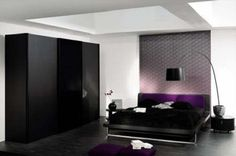Luxury Master Bedroom Designs in Black and White