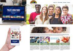 A great web design by Mo Camara, New York, NY: Website, Social/Community , Non Profit , Wordpress