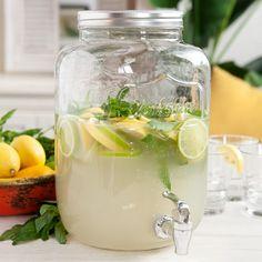 Mason Jar Drink Dispenser 8L. dispensador de bebida. dispensador de limonada. Yorkshire