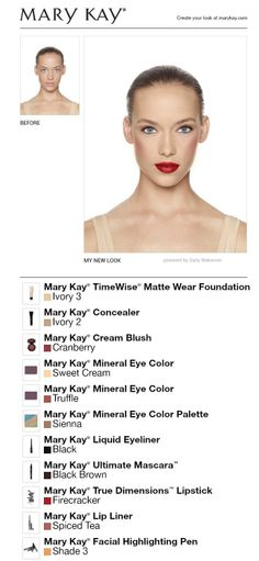 Mary Kay Makeup... Complimentary Makeovers!