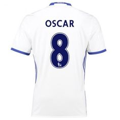 Chelsea 16-17 #Oscar Emboaba 8 TRødje trøje Kort ærmer,208,58KR,shirtshopservice@gmail.com