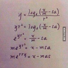 Boldog karácsonyt! (Matematikus verzió)