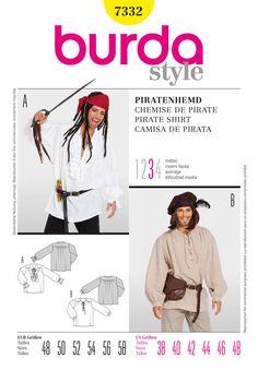 BD7332 Pirate Costume