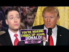 You're Making Things Up Again, Donald!  Randy Rainbow Song Parody - YouTube
