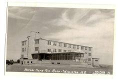 1953 Williston North Dakota ND Bethel Home for Aged Real Photo Postcard RPPC   eBay