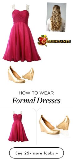 """""""Descendants Coronation after party"""" by andrea-mauvais on Polyvore featuring Maison Margiela and Disney"""