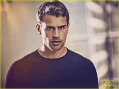 Theo James Is Smoldering in New Hugo Boss Photos (Exclusive Pics!) - his lips