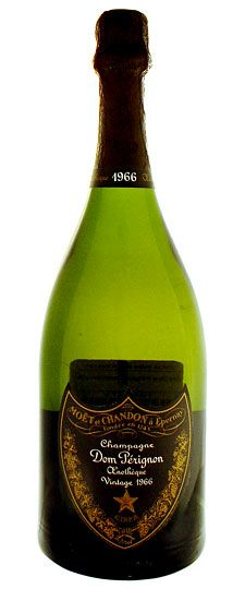 extremely rare Dom Perignon 1966, which is priced at around the $1,950 mark per bottle. This champagne was discovered in the cellar of a private collector, hence the rarity and reverence the editiona carries.