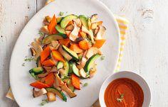 Sauté di funghi cardoncelli, zucchine e carote