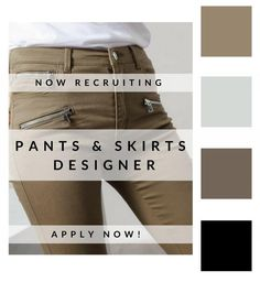 How do you feel about designing #Pants & #Skirts for womenswear?... Apply now!http://ow.ly/QK0V303U2yg