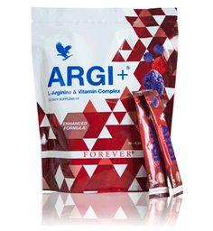 Forever Argi+ Promotes healthy blood pressure levels Proprietary fruit blend adds antioxidant power...