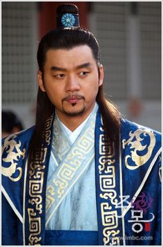 """Jumong(Hangul:삼한지-주몽 편;hanja:三韓志-朱蒙篇주몽;RR:Samhanji-Jumong Pyeon; lit. """"The Book of the Three Hans: The Chapter of Jumong"""") is a South Koreanhistorical period dramaseries that aired onMBCfrom 2006 to 2007. The series examines the life ofJumong, founder of the kingdom ofGoguryeo. Few details have been found in the historical record about Jumong, so much of the series is fictionalized."""