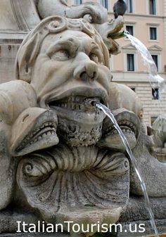 During a Rome vacation you will enjoy many beautiful fountains