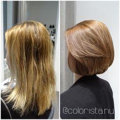 En ny start började med en ny frisyr • Colorista - Colorista