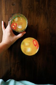 Anti-Inflammatory Turmeric, Ginger and Chili Tonic | Wandering Spice