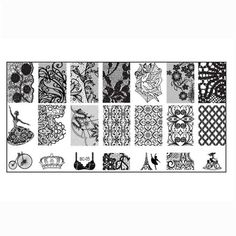 1PCS Nail Stamp Stamping Image Plate Print Nail Art Template DIY By Bestpriceam >>> This is an Amazon Affiliate link. Want additional info? Click on the image.