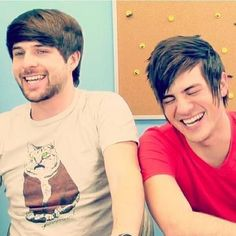 Smosh. These guys are my YouTube guilty pleasure! I have loved them since the 4th grade and I'm glad that they keep producing hilarious videos!