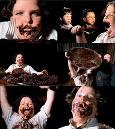 Matilda- i hate chocolate cake because of this movie