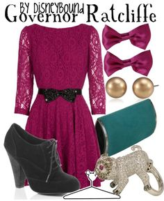Outfits put together based on disney characters! AWESOME!! (Can you guess where Gov. Ratcliffe's from?) :) Tumblr