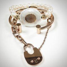 Set By Vila Veloni Rose Gold Heaven Bracelets