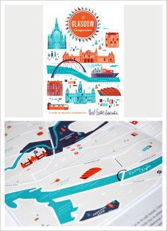 Herb Lester Associates – Illustrated City Maps & Guides — Designspiration
