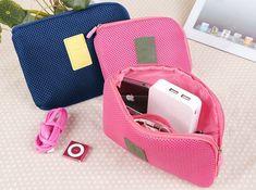 Pink RFID Blocking Document Organizer Bag ROMIX Travel Wallet /& Family Passport Holder