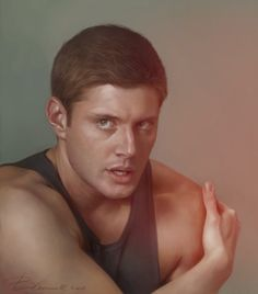 Jensen Ackles as Dean Winchester from Supernatural. Fan Art.