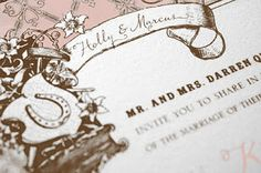Louisville Wedding Blog - The Local Louisville KY wedding resource: Planning a Kentucky Derby Wedding: Part 2 – Choosing your Invitations