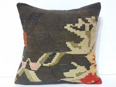 40 YOLD Moldovian Kilim Pillow Cover Case Handwoven by DECOLIC