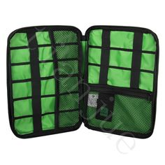 Data cable Pouch Complex line Organizer Holder Multi-Pocket Travel Storage Bag Hanger for electronic product Capacity Storage