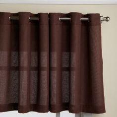Chocolate curtain