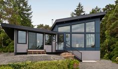 Seeking a Victoria home that needed updates, an Ottawa couple bought a midcentury Di Castri and hired Falcon Heights Contracting for this new renovation.
