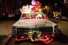 christmas kitsch | Kitschy Christmas car