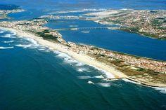 Costa Nova Beach and Aveiro City - Portugal