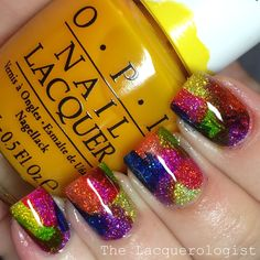 The Lacquerologist: OPI Color Paints + KBShimmer Alloy Matey = Match Made In Heaven!
