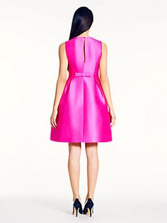 roset dress, bougainvillea