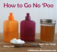 How to Go No 'Poo | www.deliciousobsessions.com