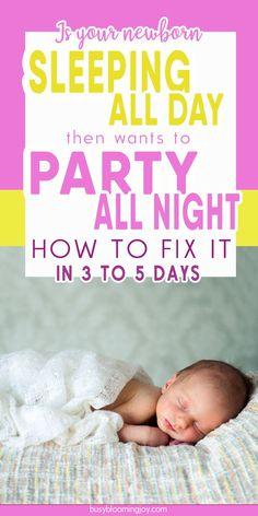 Newborn Sleeps All day? 10 fail-safe tactics to fix day night confusion fast! Infants are born with no sense of day and night so it may seem your newborn has days and nights confused I. sleeping all day and awake at night. This will correct itself natur Newborn Sleeps All Day, Baby Sleeping All Day, Sleeping Through The Night, Sleep Train Newborn, Baby Schlafplan, Get Baby, Newborn Schedule, Baby Sleep Schedule, Help Baby Sleep