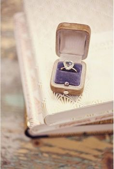 vintage ring box, Photo: Sarah Gawler