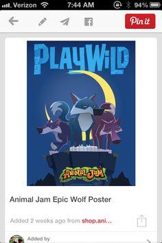 Animal jam play wild at www.animaljam.com PLAY WILD!!!