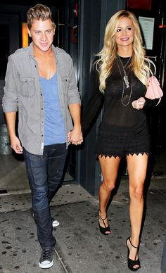emily maynard and jef...seriously think they are adorable!