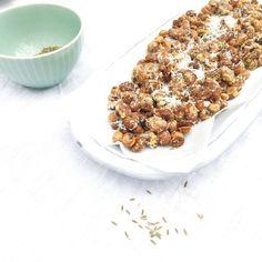 Geroosterde bonen snack uit de oven via @madebyellen