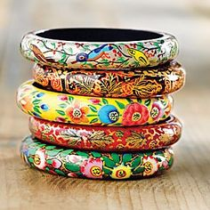 beautiful russian bangles