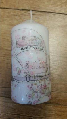 Świeczka na wesele ;)